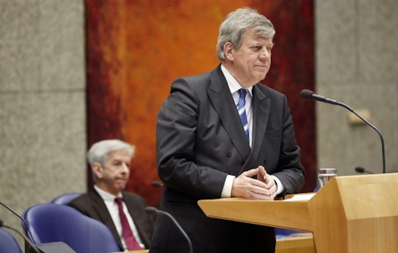 Ministers Opstelten en Plasterk. ANP