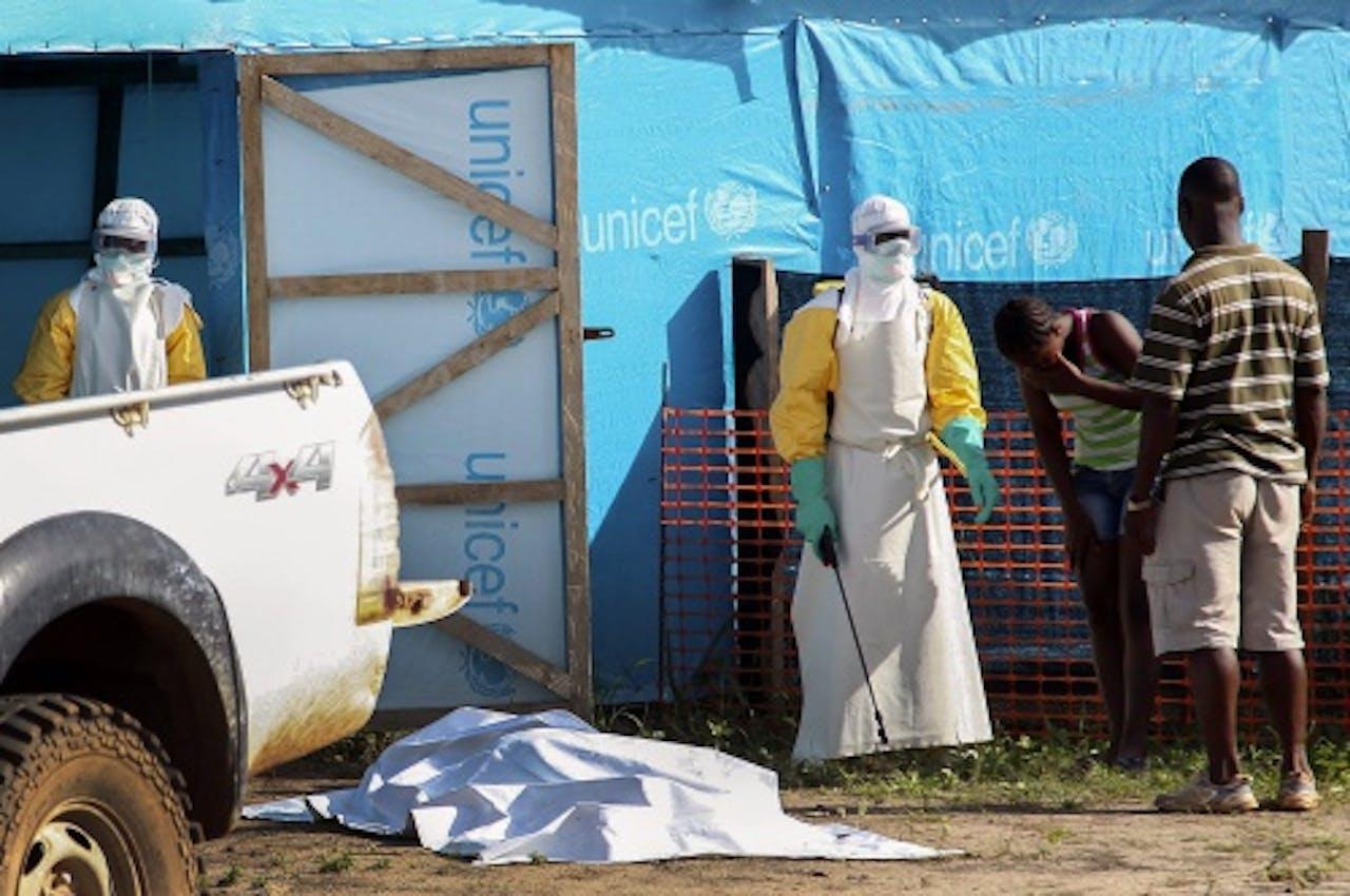 Ebola in Liberië. EPA