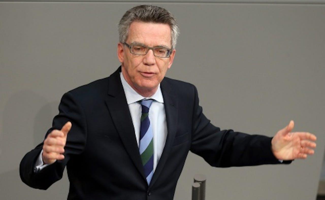 Thomas de Maizière. EPA