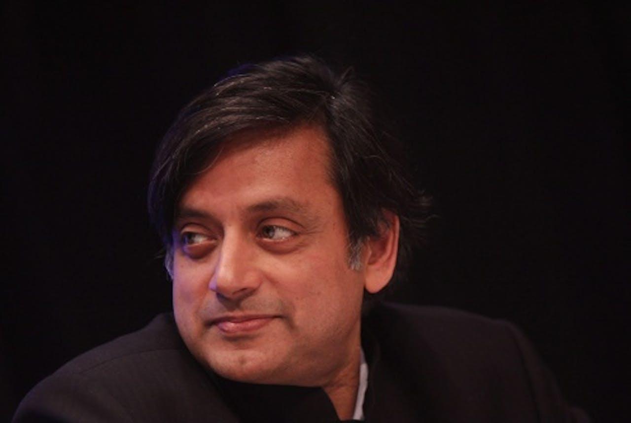 Minister Tharoor. EPA
