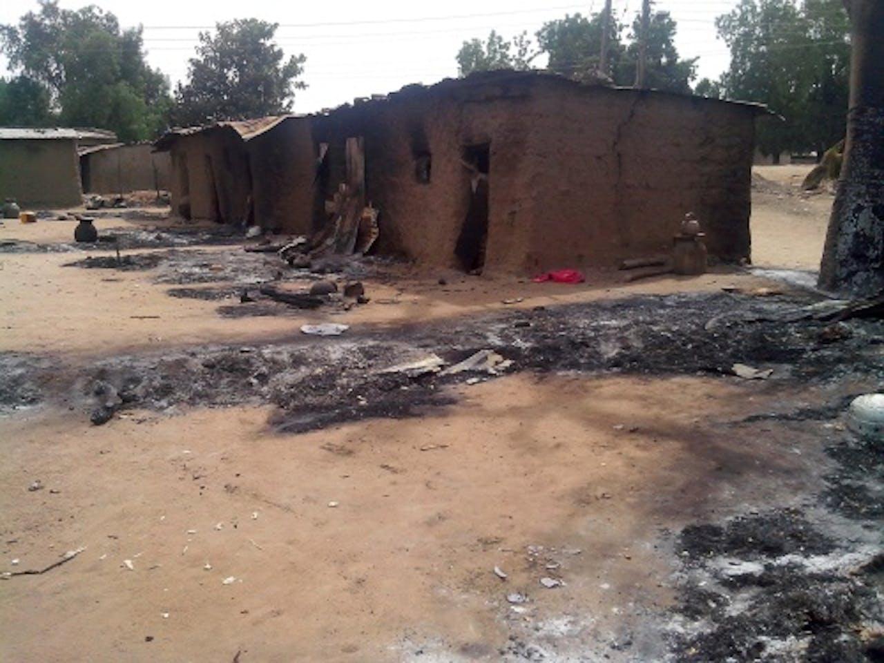 Archiefbeeld eerdere aanslag in Nigeria. EPA