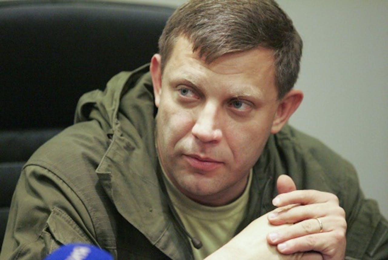 Aleksander Zahartsjenko. EPA