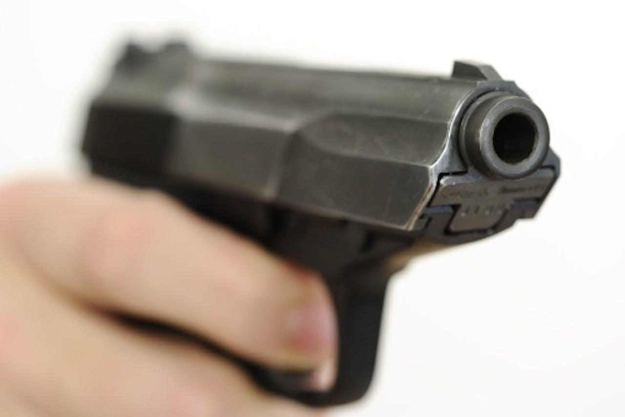 Archiefbeeld van een pistool. ANP