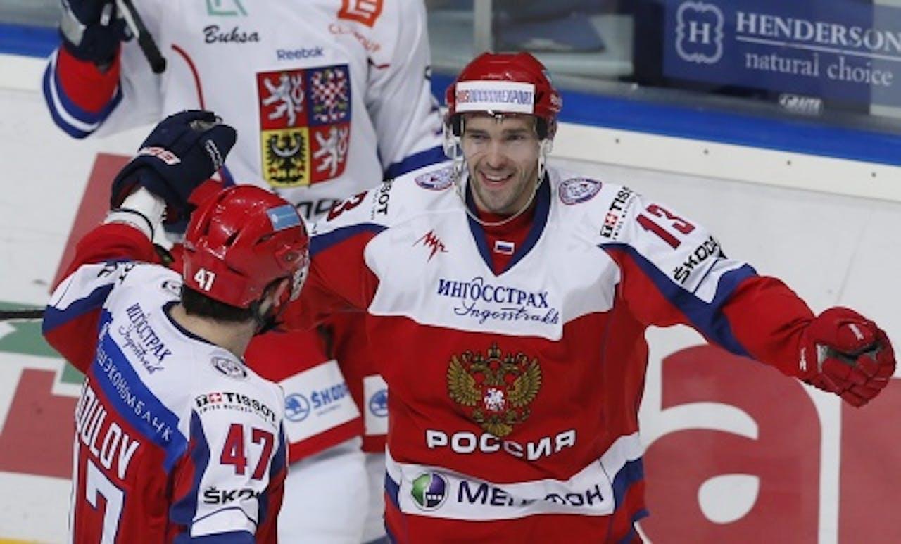 Pavel Datsyuk. EPA
