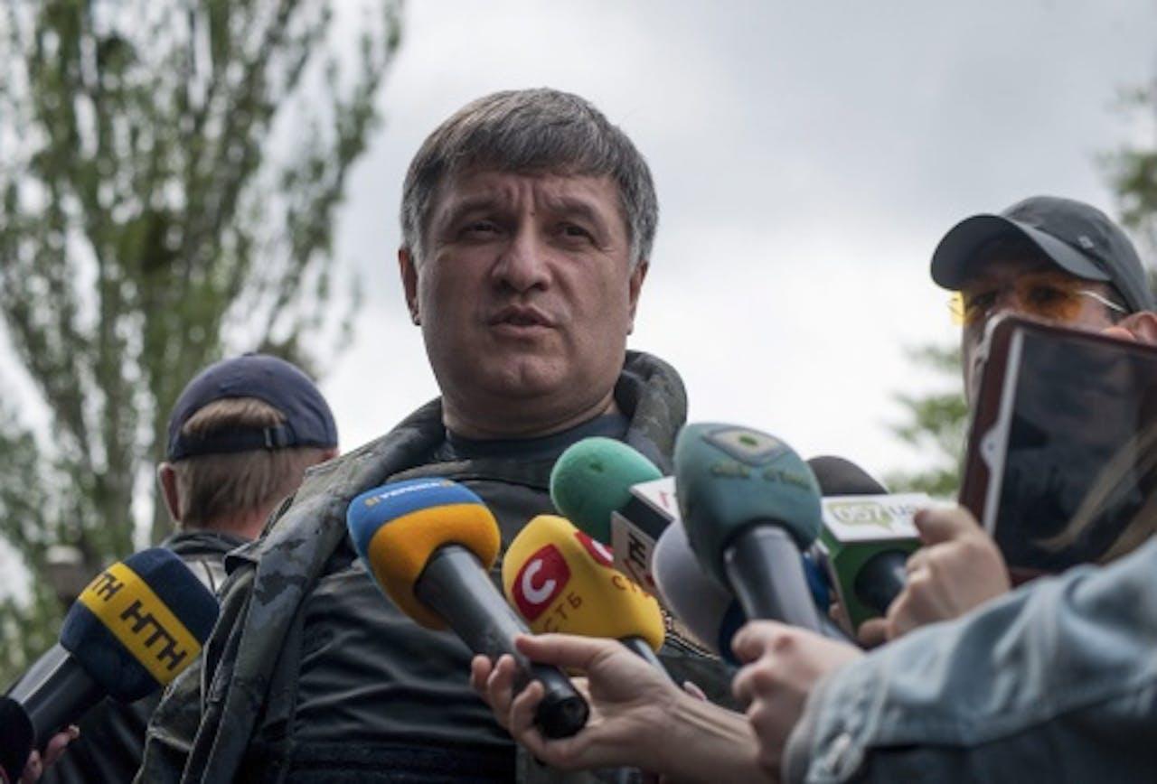 Arsen Avakov. EPA