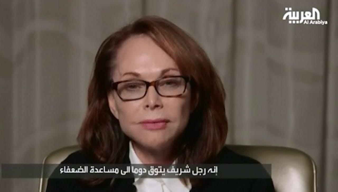 De moeder van Steven Sotloff.EPA