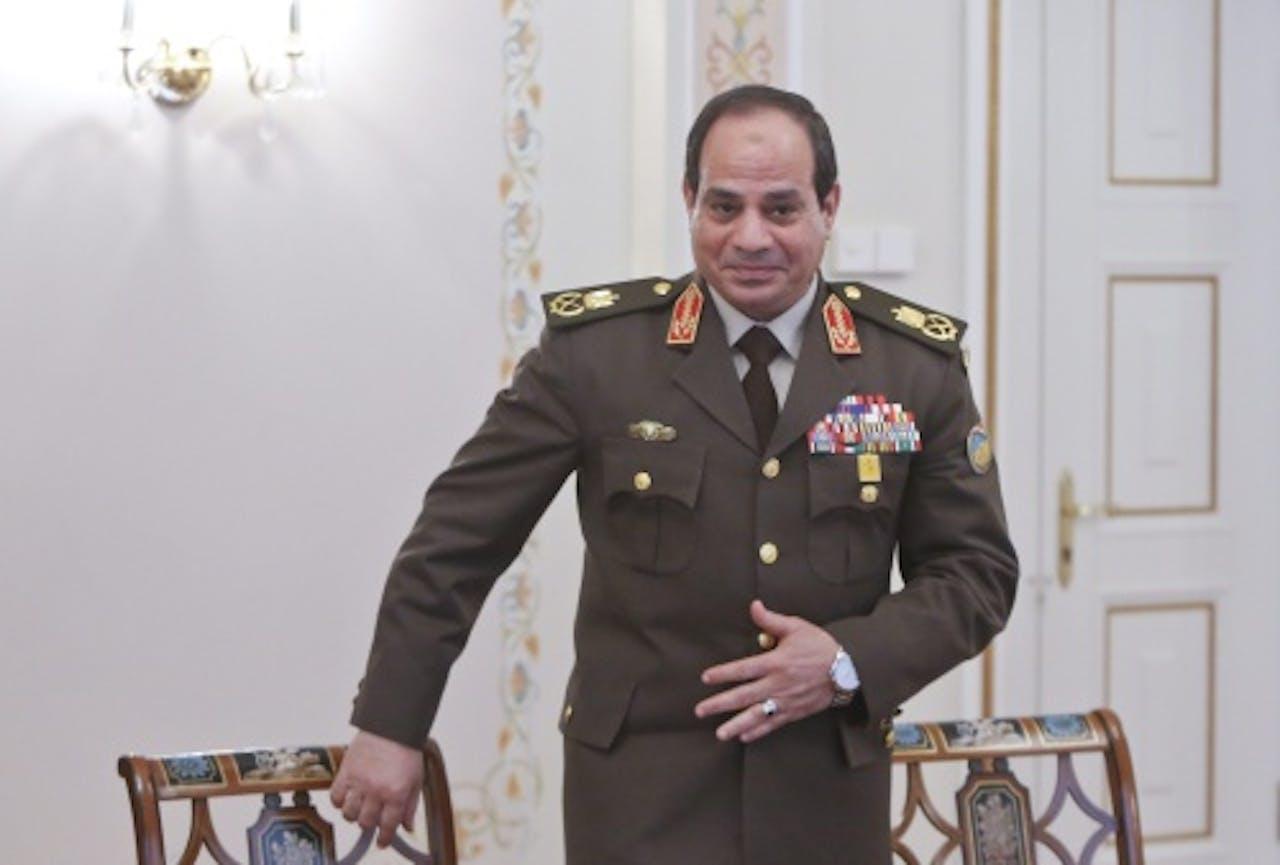 Abdel Fattah al-Sisi. EPA