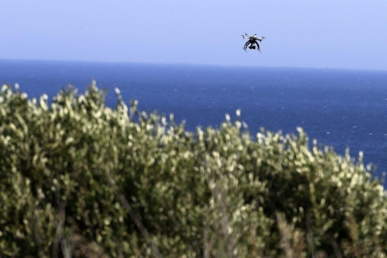 Archiefbeeld van een drone. EPA