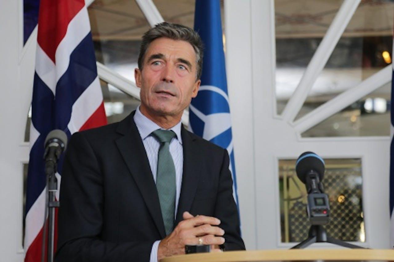 Anders Fogh Rasmussen. EPA