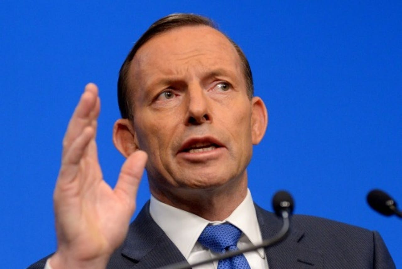 Tony Abbott. EPA