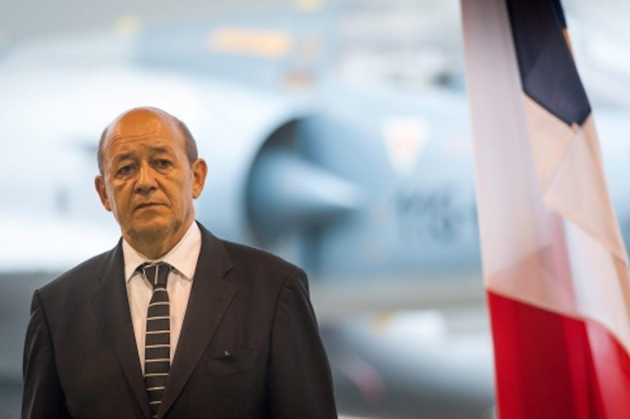 Jean-Yves Le Drian. EPA