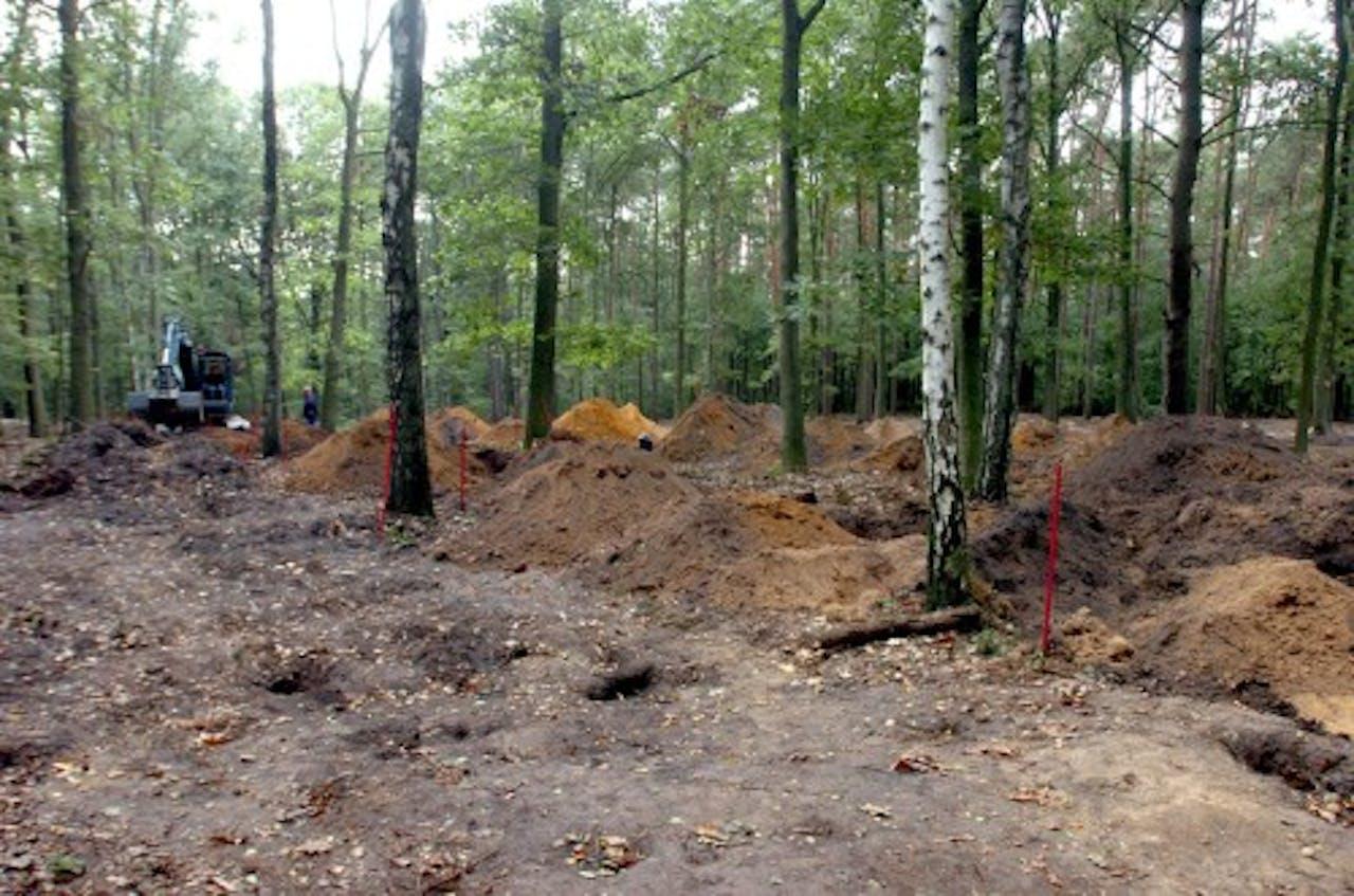 In 2004 werd gegraven naar slachtoffers van de Bende van Nijvel. EPA