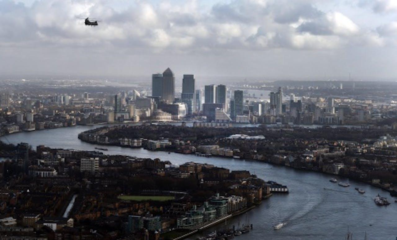 Financieel centrum Londen. EPA