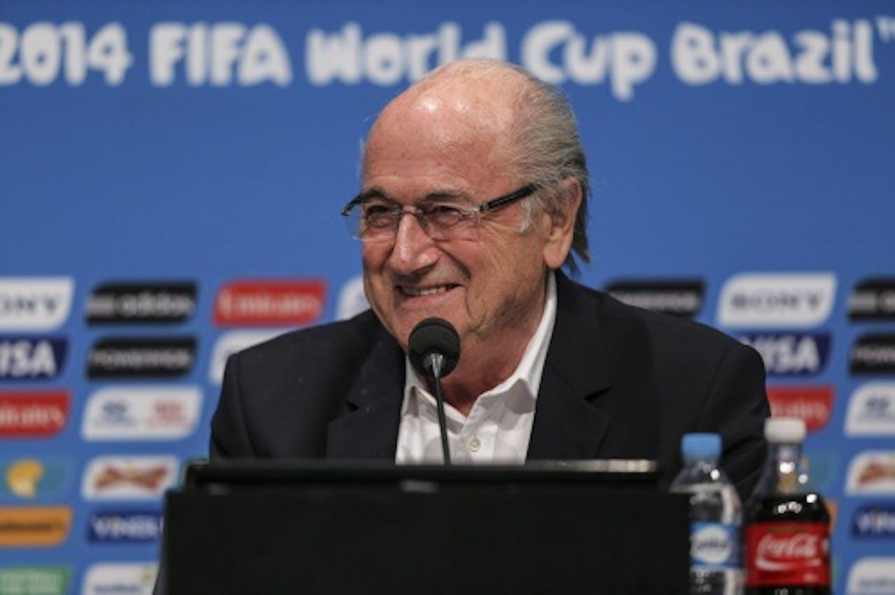 Voorzitter van FIFA, Sepp Blatter. EPA