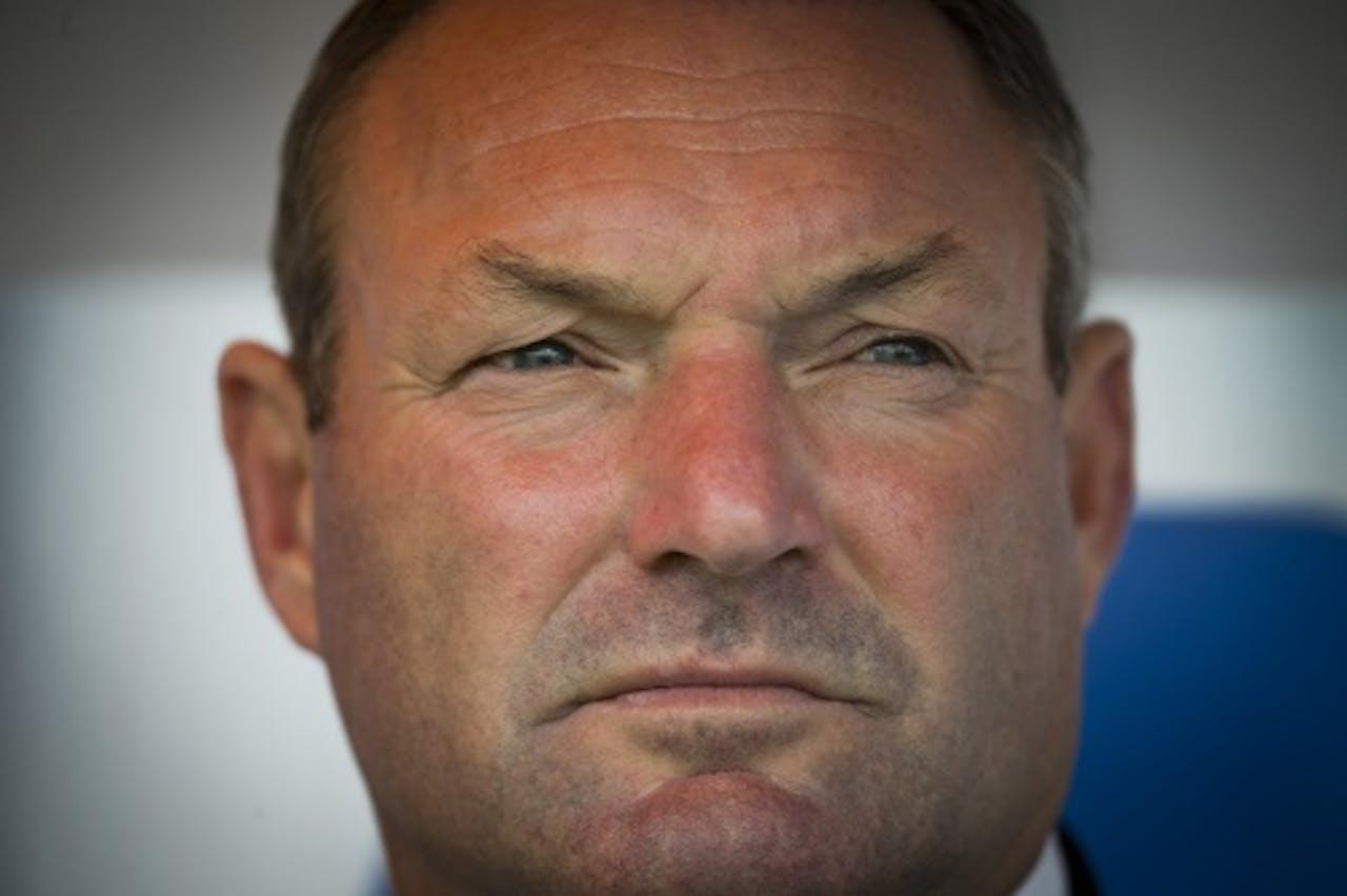 Zwolletrainer Ron Jans. ANP