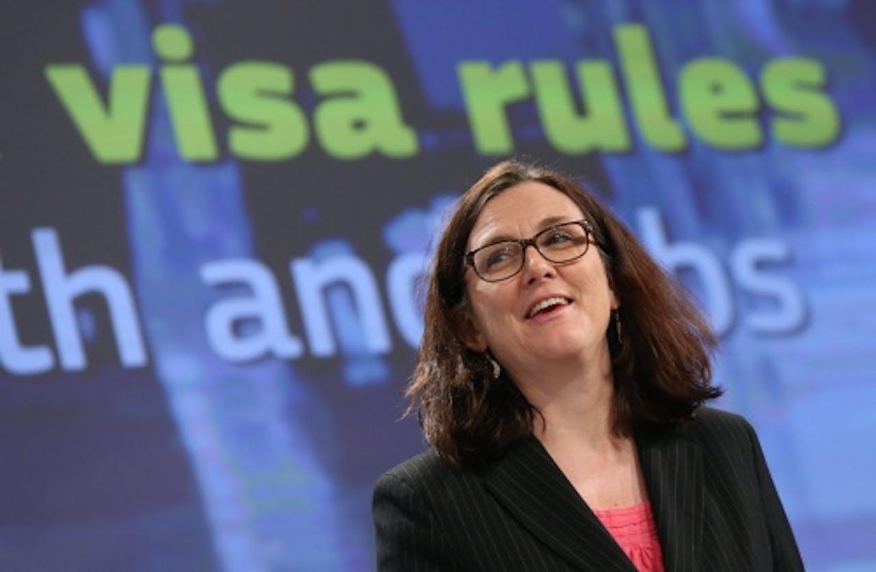 Cecilia Malmström. EPA