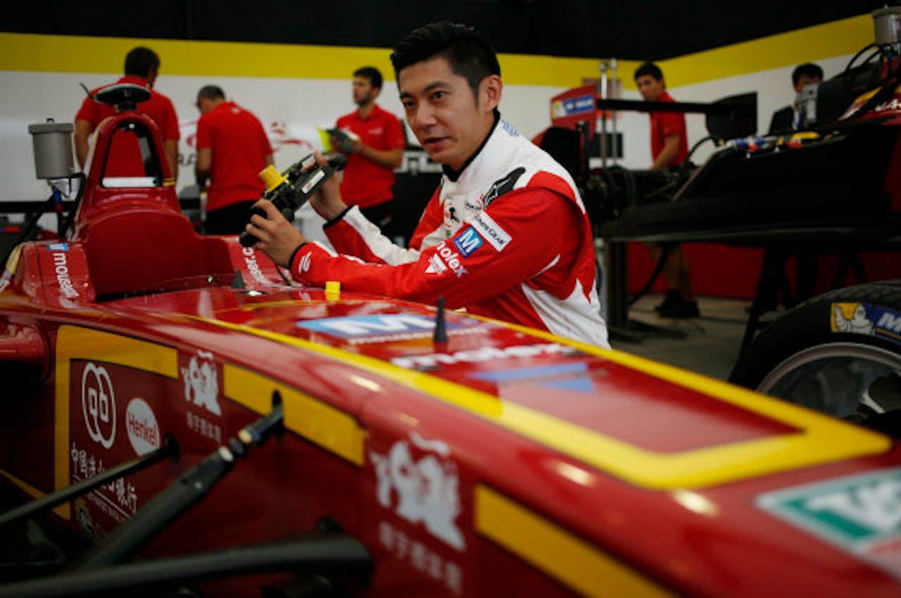 Ho-Pin Tung, autocoureur