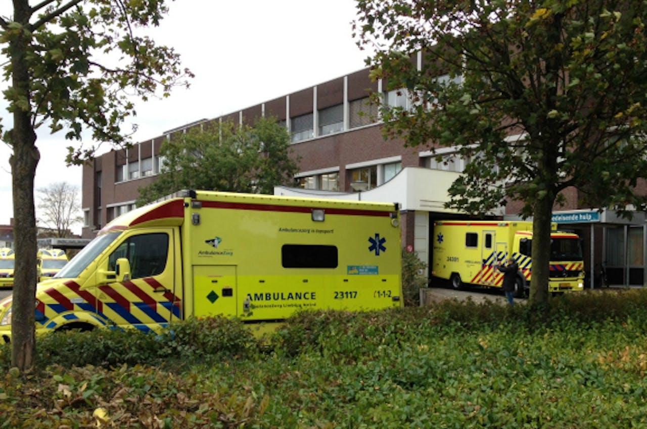 21 oktober: Het Laurentius Ziekenhuis moet een aantal patiënten evacueren omdat het de noodstroom niet aan de gang krijgt. Foto: ANP