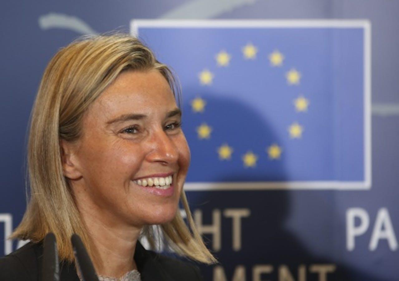 Federica Mogherini. EPA