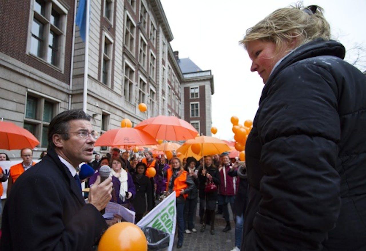 Mariëtte Patijn (R). ANP