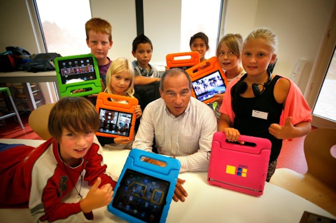 Maurice de Hond, initiatiefnemer van de Steve Jobs-scholen in Nederland