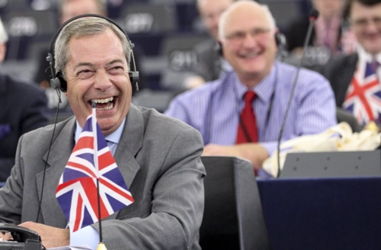 UKIP-voorman Nigel Farage. EPA