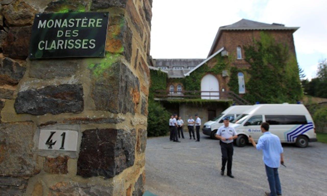 Het klooster in Malonne waar Martin woont. EPA