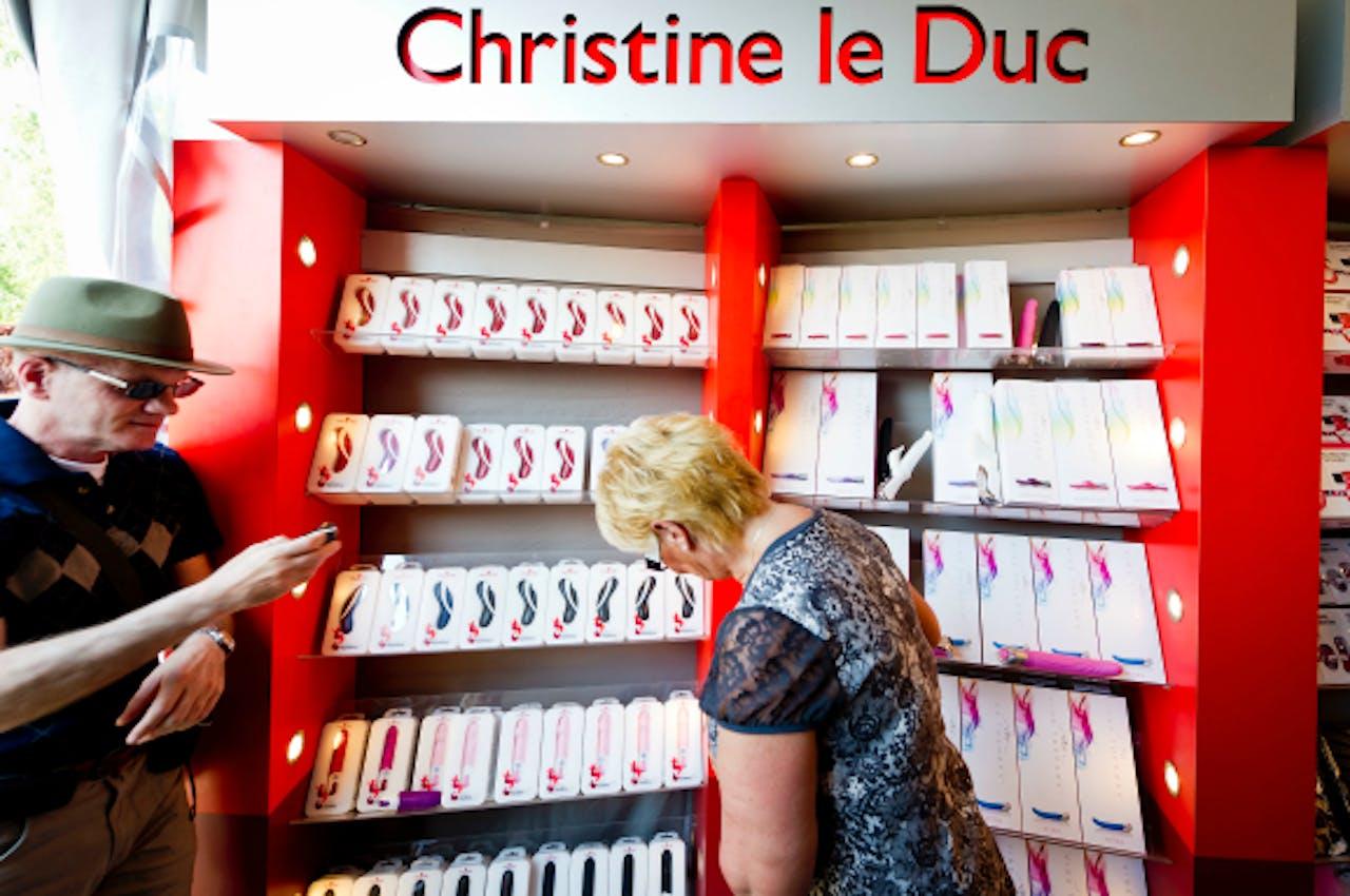 Christine le Duc richt zich steeds meer op erotische artikelen voor vrouwen.