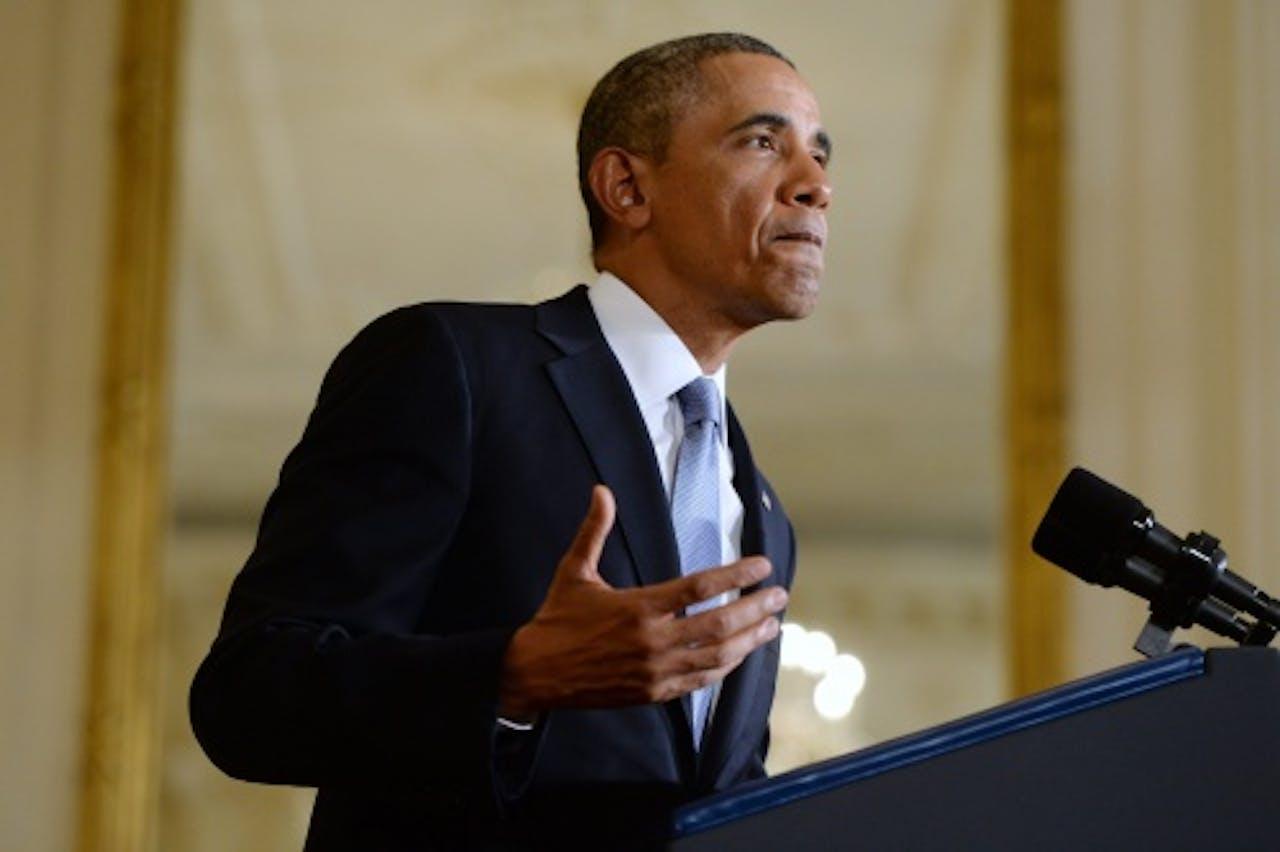 De Amerikaanse president Barack Obama (EPA)