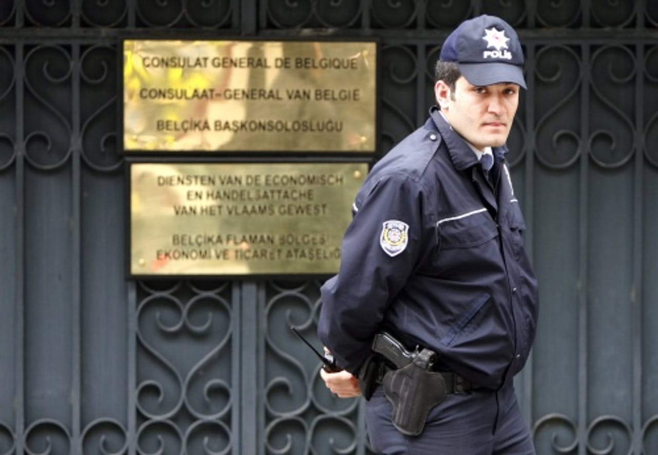 Belgische consulaat in Istanbul. EPA