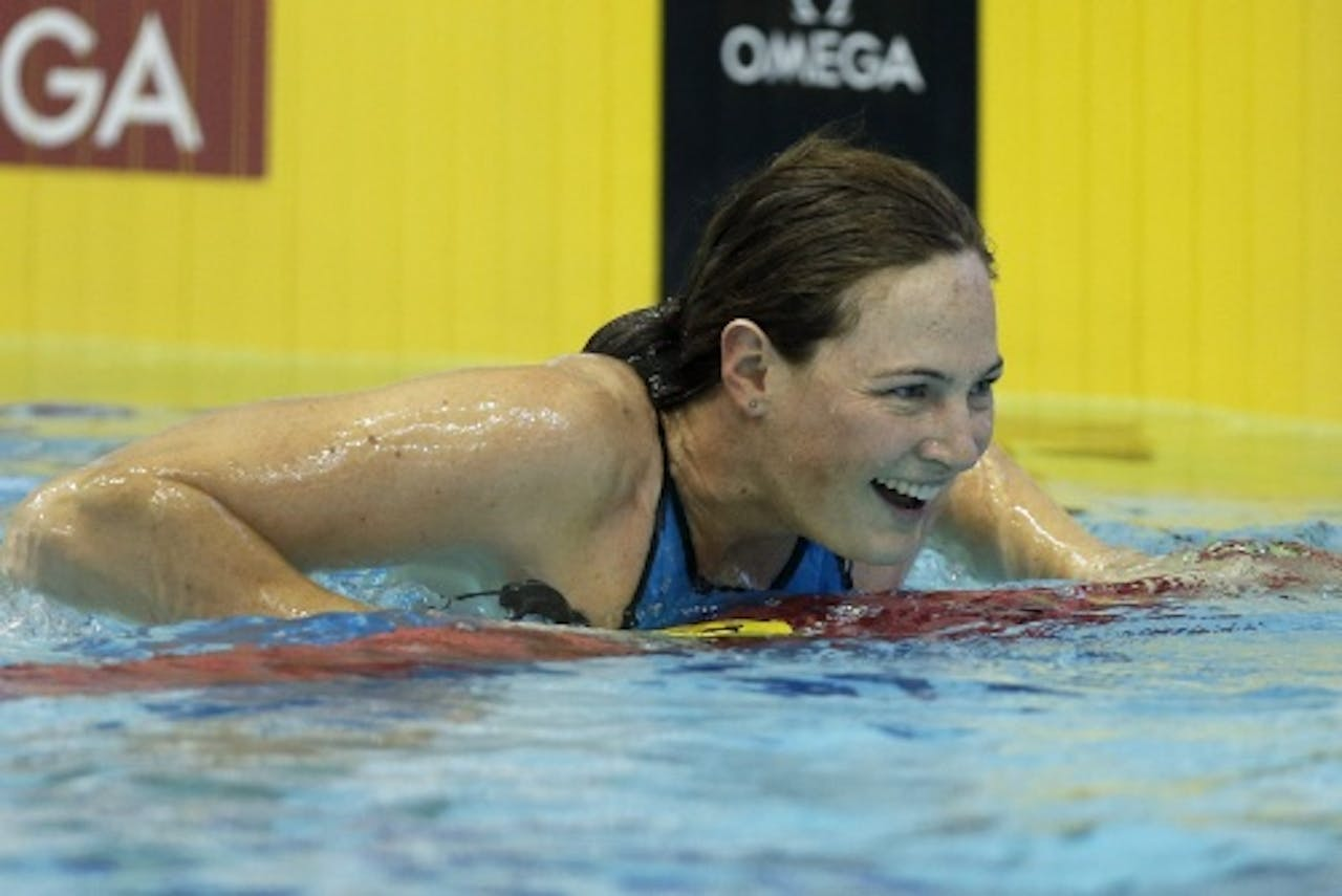 Cate Campbell. EPA