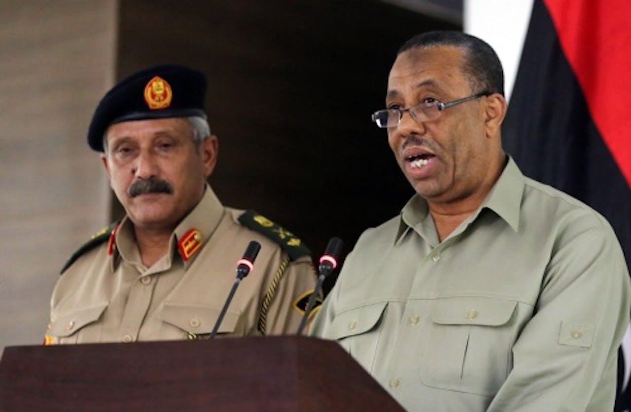 Libische interim-premier Abdullah al-Thini. EPA