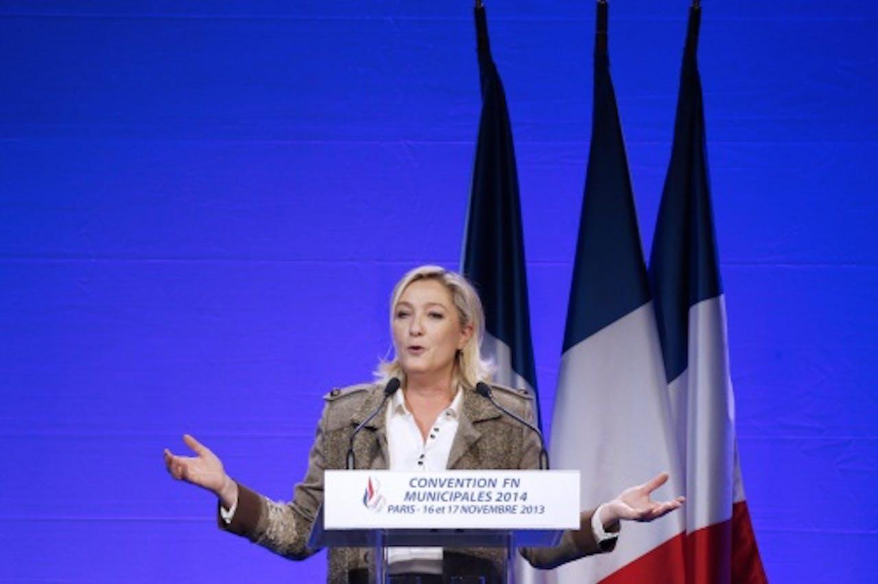 Marine Le Pen. EPA