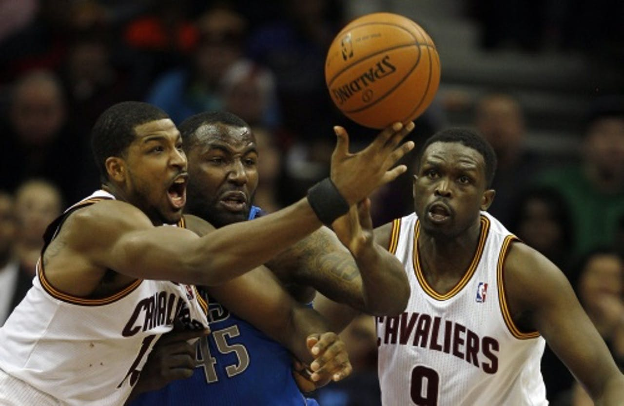 Cleveland Cavaliers (archiefbeeld). EPA