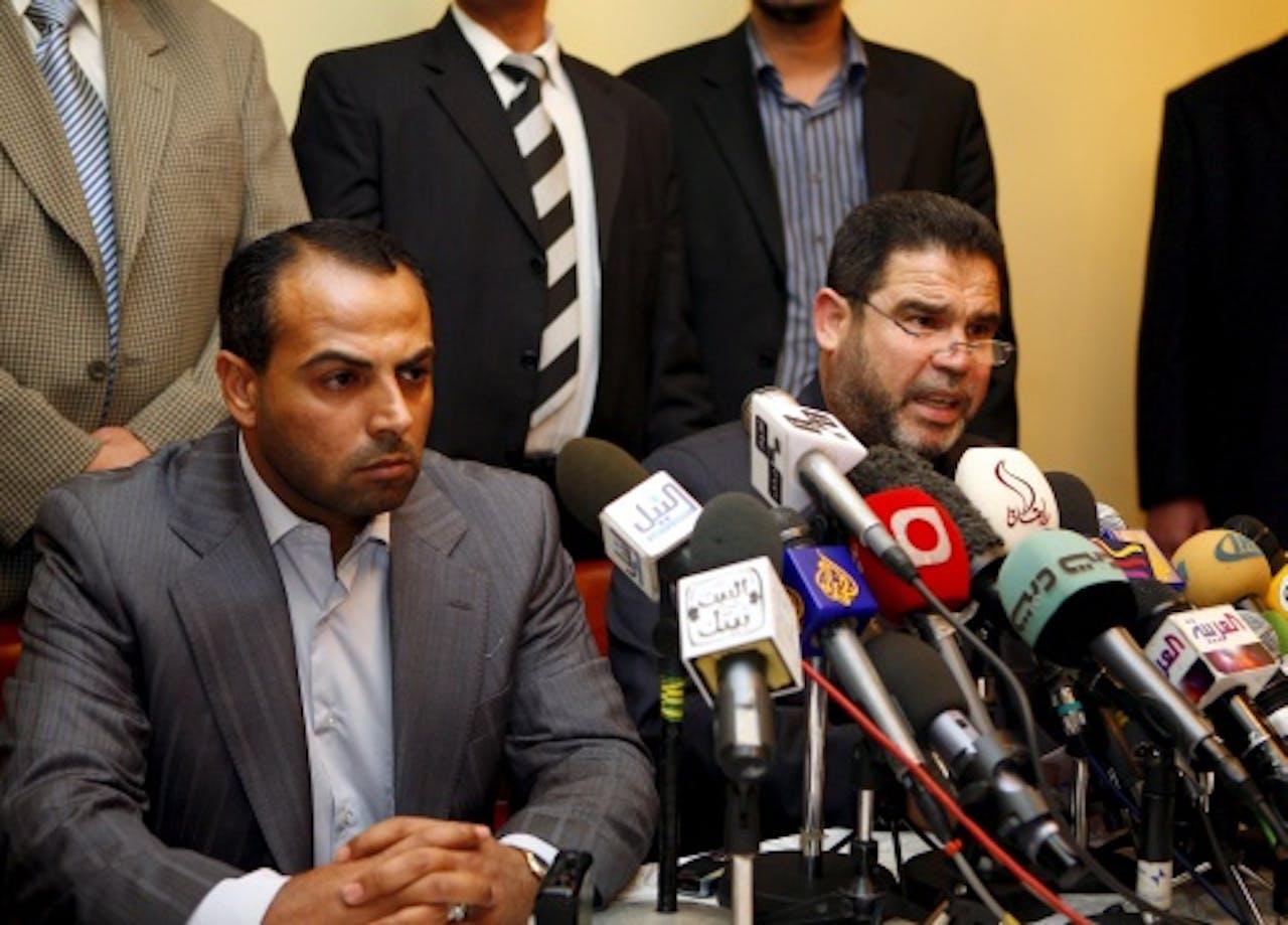 Archiefbeeld Ayman Taha (L). EPA