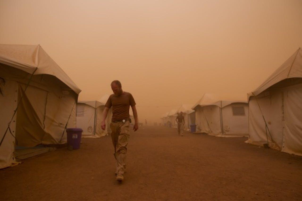 Archiefbeeld van het Nederlandse kamp Castor in Mali (ANP)