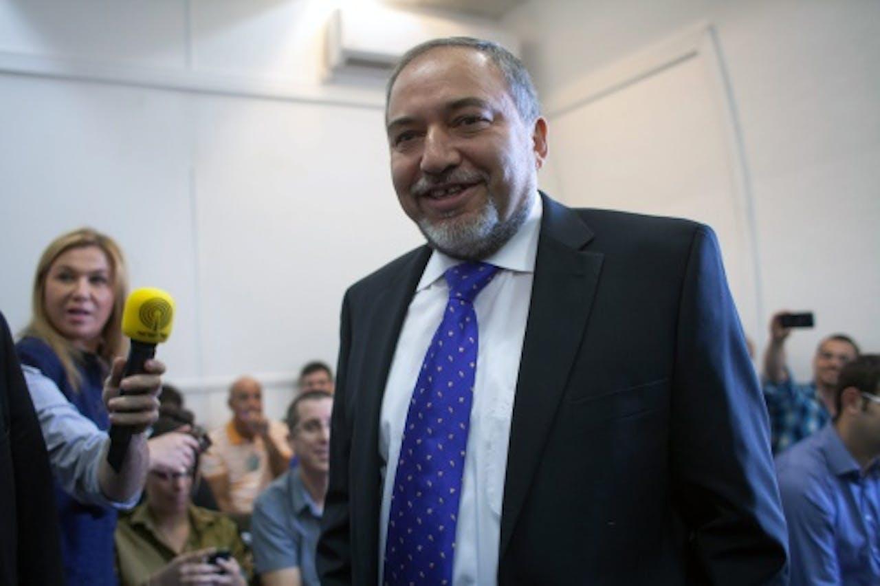 Avigdor Lieberman. EPA