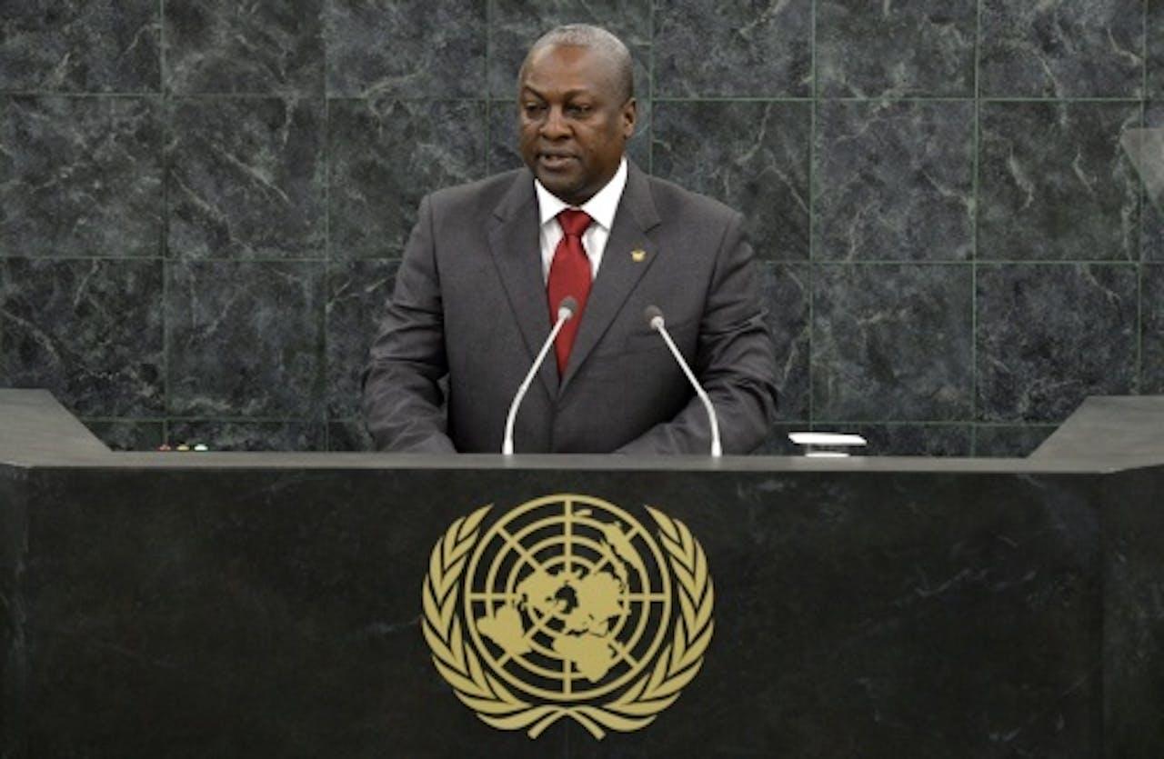 John Dramani Mahama. EPA