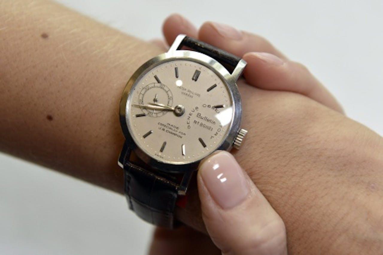Archiefbeeld van een Patek Philippe-horloge. EPA