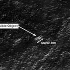 malaysia airlines 16 maart satellietbeeld indische oceaan
