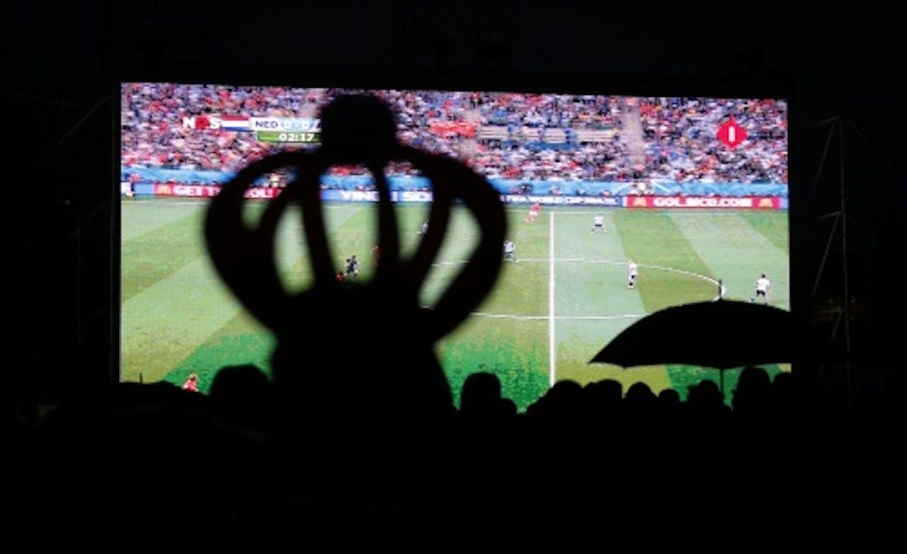 WK-voetbal zorgt voor verkoop tv's. ANP