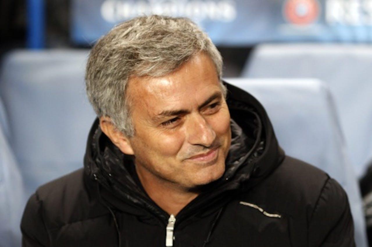 Trainer José Mourinho. EPA