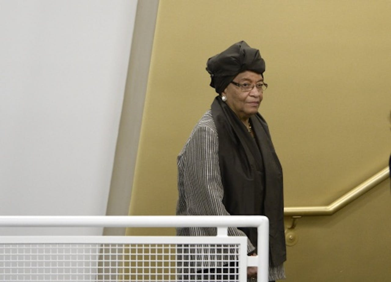 Ellen Johnson Sirleaf. EPA