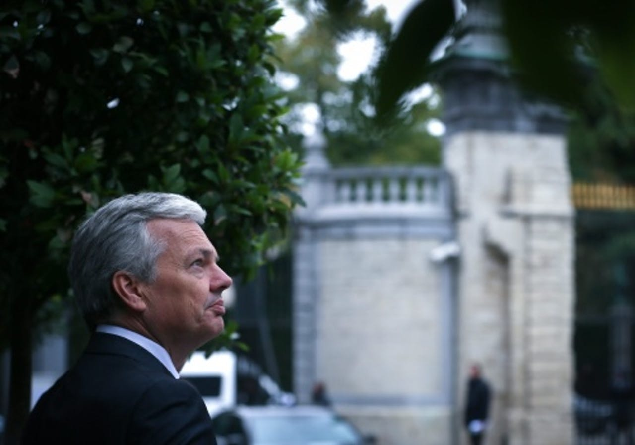 Didier Reynders. EPA