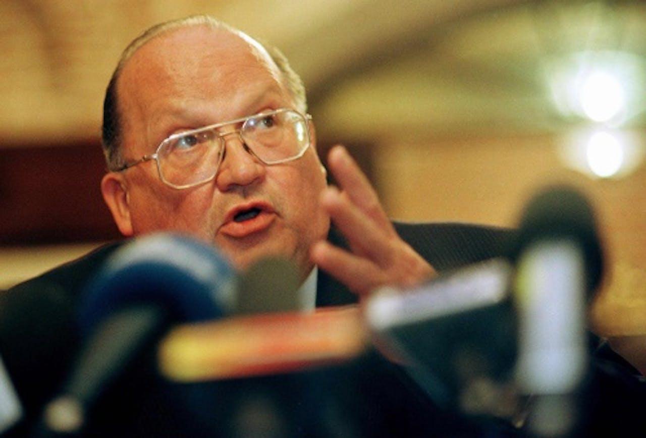 Jean-Luc Dehaene. EPA