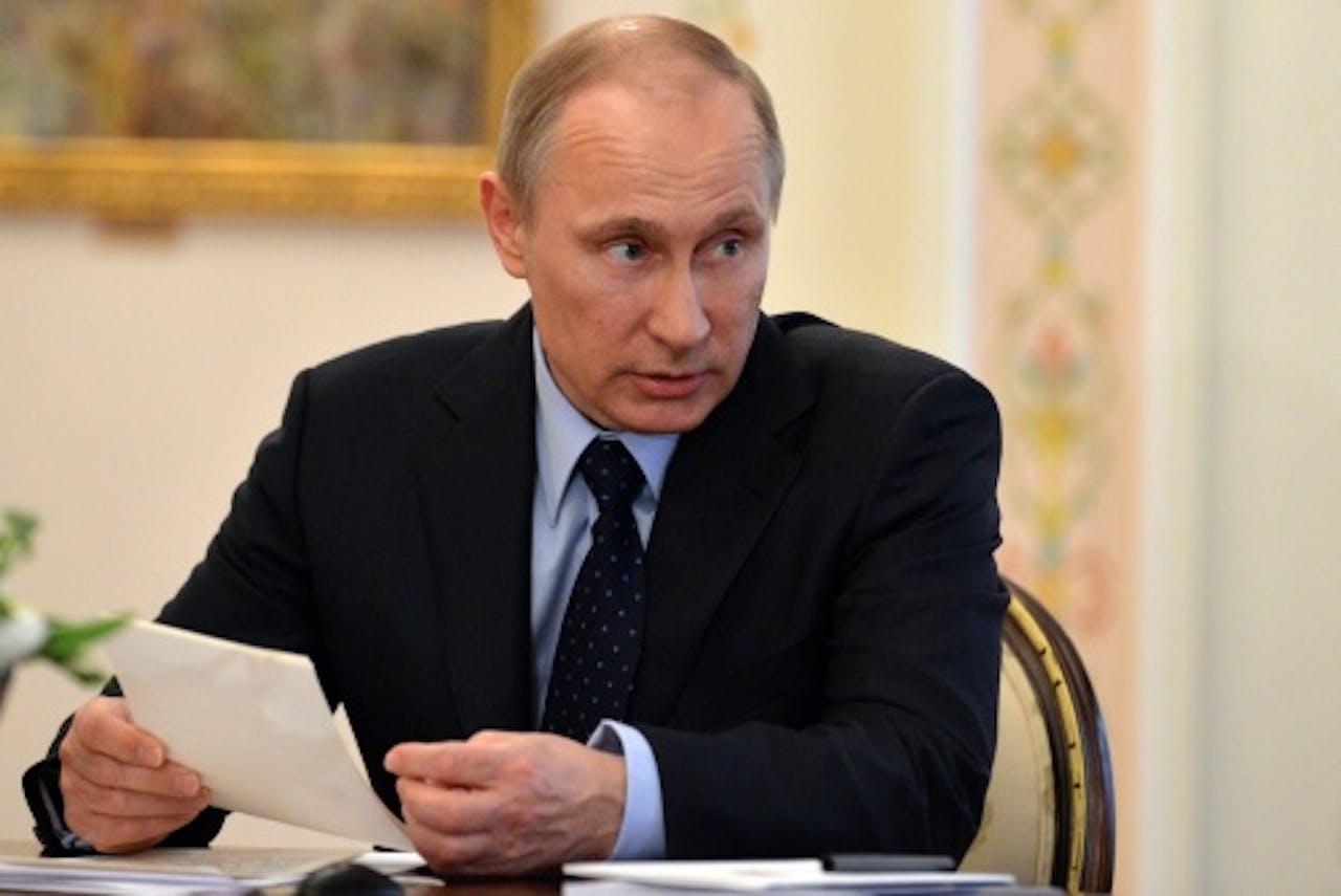 President Poetin. EPA