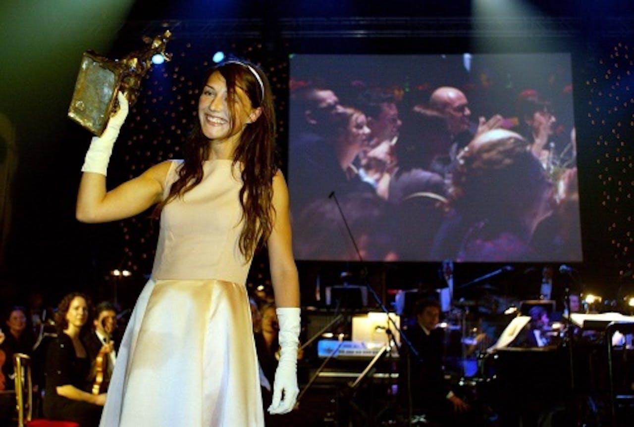Carice van Houten won in 2002 een Gouden Kalf voor haar hoofdrol in Minoes. ANP