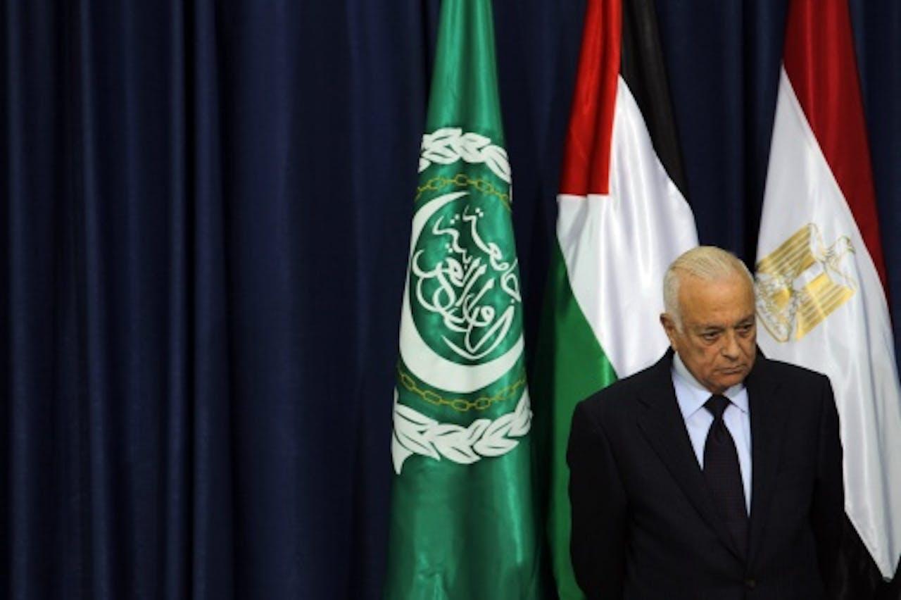 Nabil al-Araby. EPA