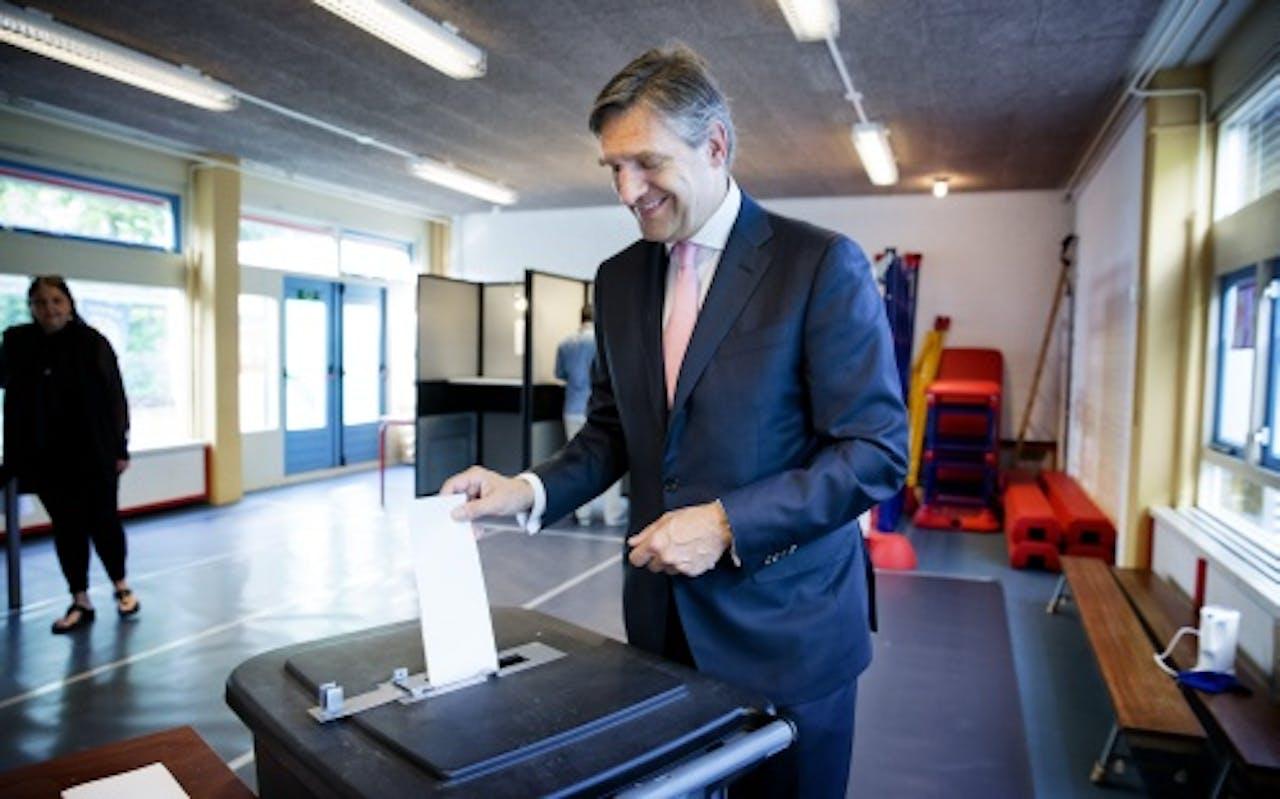 CDA-leider Sybrand van Haersma Buma. ANP