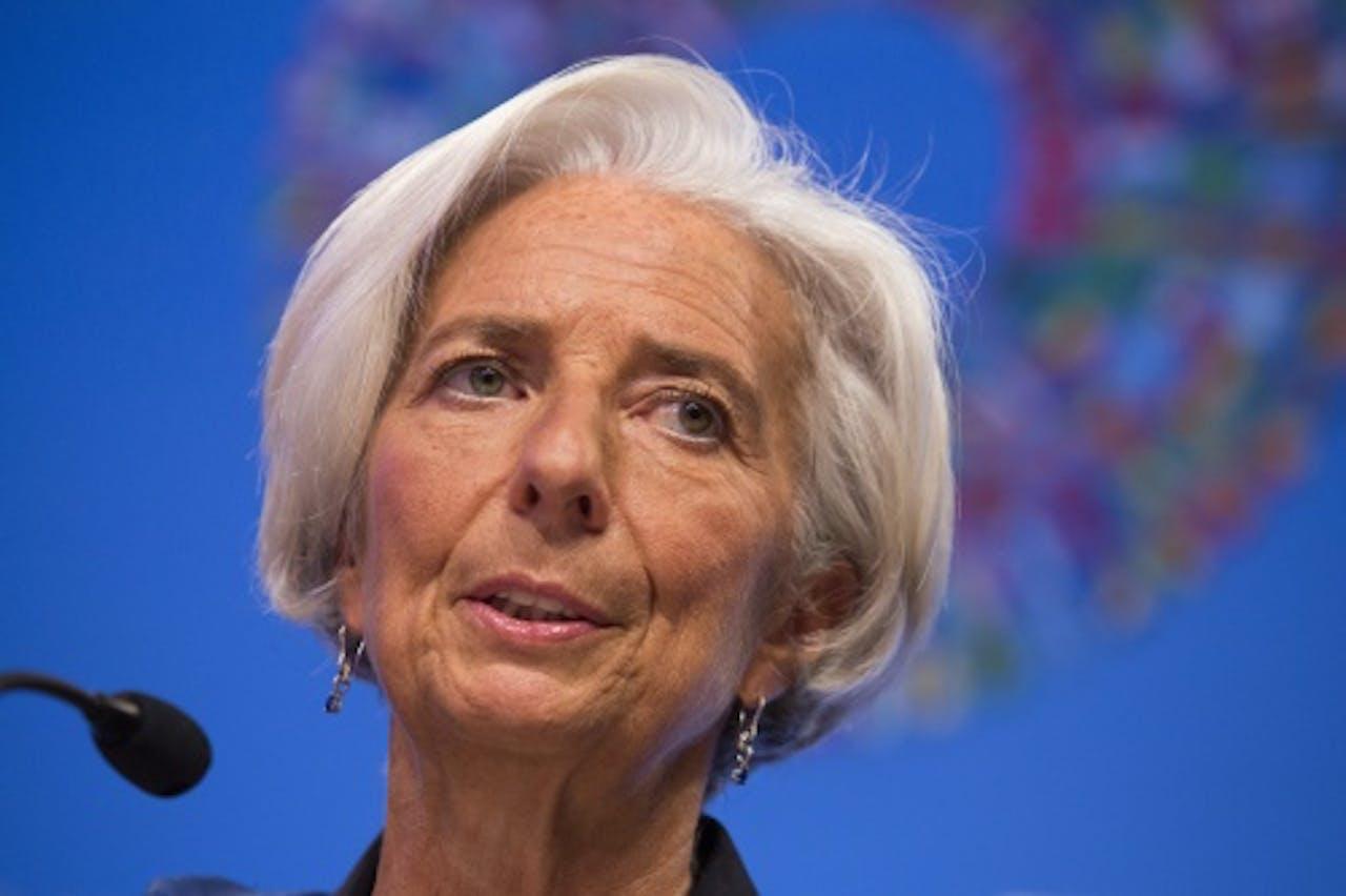 Christine Lagarde. EPA